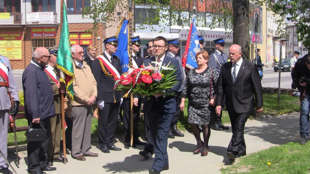Obchody Święta Konstytucji 3 Maja w Ciechanowie (zdjęcia